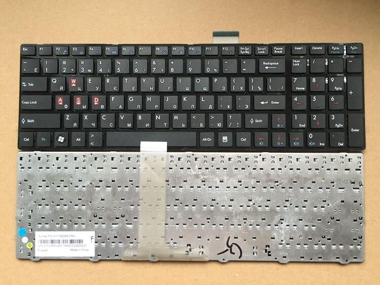 !NEW RU Russia For MSI CR61 CR620 S6000 MS-1681 MS-1736 CX705 16GA 16GB MS16GB MS16GA GE60 CX70 CX61 A6200 Keyboard
