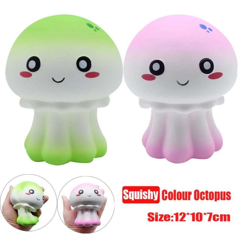 Squishy New Cute Unicorn Octopus Scented Squishy Slow Rising Squeeze Toy Collection Squishy Toys For Kids Gfits t119