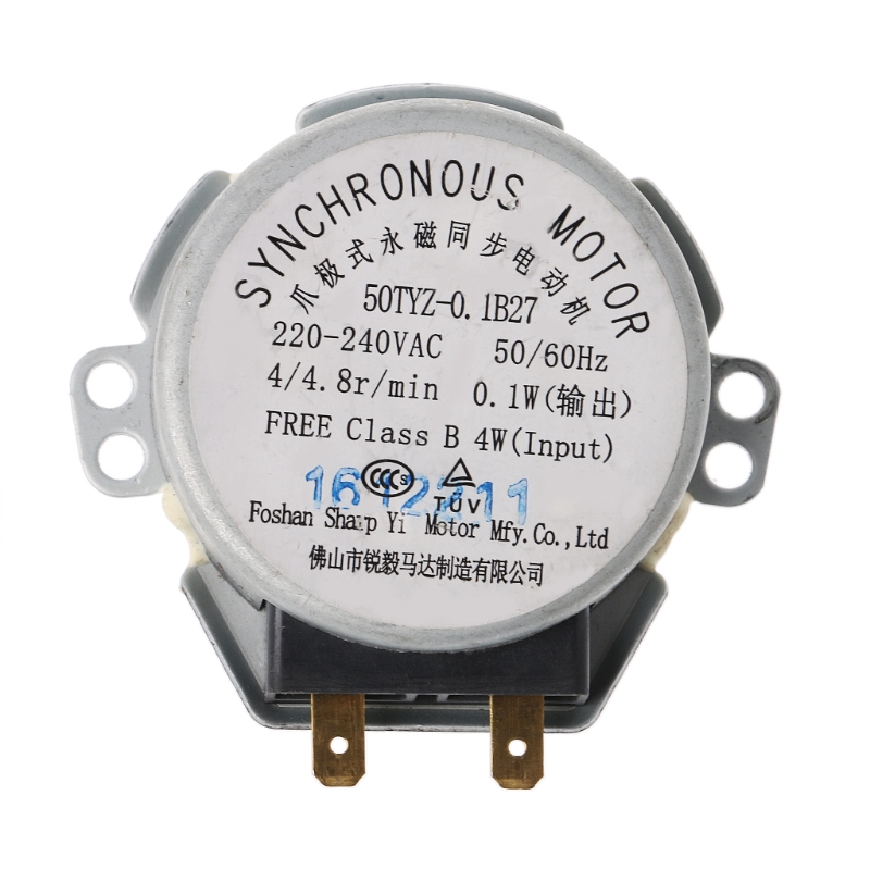 все цены на 220-240V Microwave Oven Tray Synchronous Motor For Microwave Oven Engine Parts онлайн