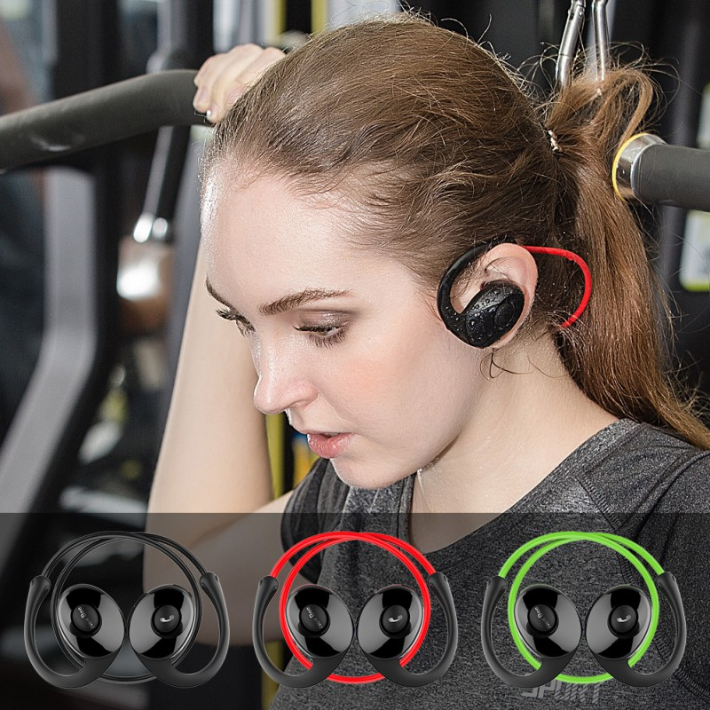 3 Colors Athlete Bluetooth Headset Wireless Headphones Sports Running Stereo Earphone with Microphone Original Box