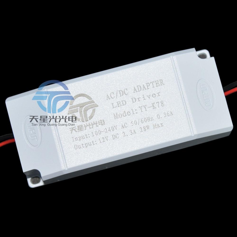 5pcs <font><b>Super</b></font> light weight 28W 100-240V to DC12V 2.3A <font><b>adapter</b></font> led driver <font><b>Power</b></font> <font><b>Supply</b></font> Transformer for Led light