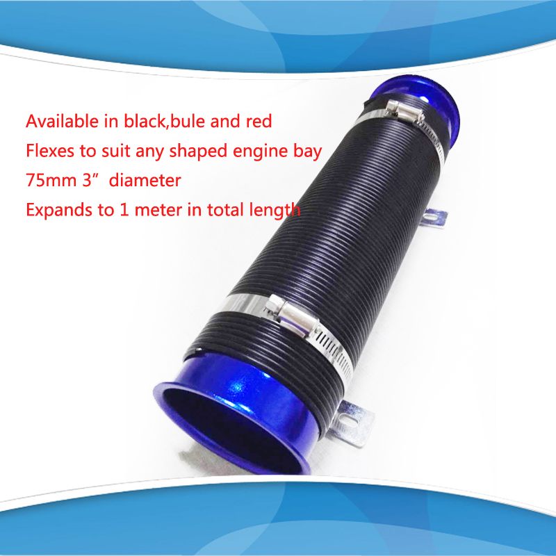 3 Quot 76mm Universal Multi Flexible Cold Air Intake Duct