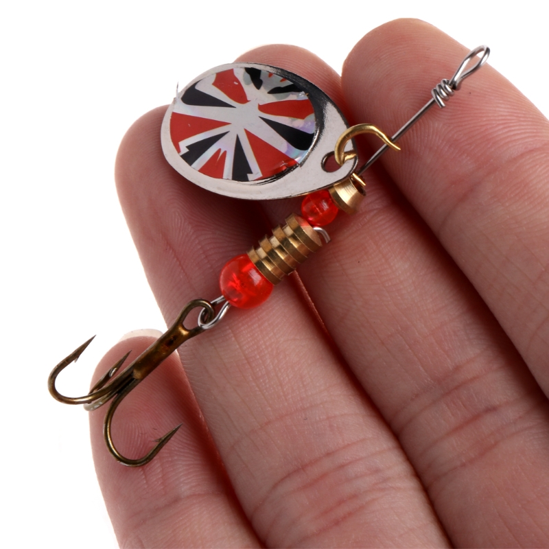 Image 3 - Fishing Lure easy shiner Fishing Spoon Lure Sequins Paillette Metal Hard Bait Double Treble Hook Tackle dropshipping-in Fishing Lures from Sports & Entertainment