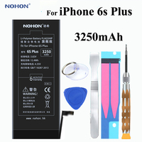 Original NOHON Battery 3250mAh For Apple IPhone 6s Plus 6sPlus Built In Phone High Real Capacity