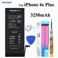 Original NOHON Battery 3250mAh For Apple IPhone 6s Plus 6sPlus Built In Phone High Real Capacity