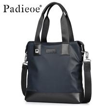 Padieoe 2016 Casual Briefcases Men Nylon Crossbody Bag Fashion Shoulderbag Soft Handbag High Quality Bag for Youth