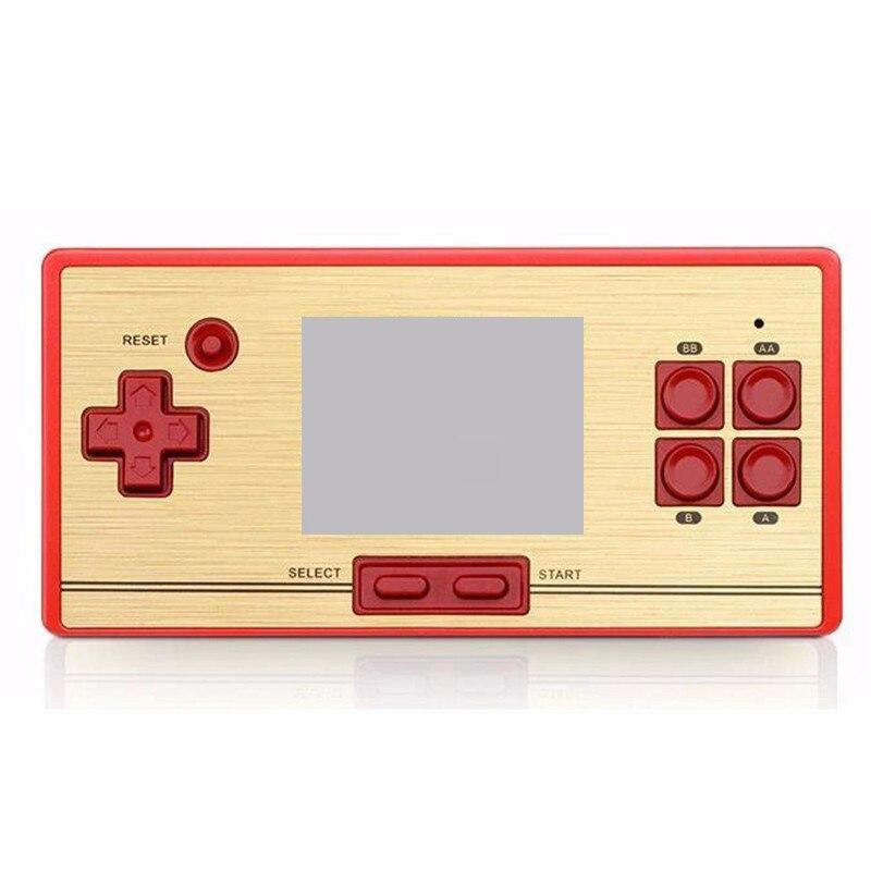 Jeux vidéo console de jeu de poche jeu 2.6 pouce écran 600 dans 1 jeux av sortie 8bit pour famille trois couleur rétro console rs20