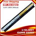 Nueva original l12l4e01 batería del ordenador portátil para lenovo g400s g405s g410s g500s g505s g510s s410p s510p z710 l12s4a02 l12s4e01 l12m4e01