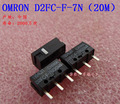 5 unids/lote 100% original omron micro interruptor d2fc-f-7n ratón 20 m ratón botón 20 millones tiimes de por vida