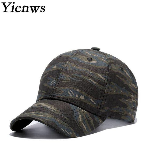 8d505964d0d Yienws Kpop Men Cotton Baseball Cap Camouflage Curved Brim Trucker Hats  Wholesale Plain Gorra Beisbol Muejr Couples Cap YIC462