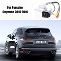 Thehotcakes Camera For Porsche Cayenne 2015 2016 License Plate Light OEM / CCD Night Vision / Rear View Camera / Backup Parking