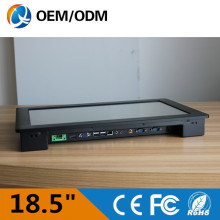 Aluminium black 18.5 » industrial pc embedded touch screen Resolution 1280×1024 industry tablet computer with i3 cpu