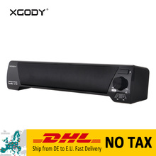 DHL Delivery from DE to EU XGODY LP-09 Home Theater Soundbar for TV Wireless Speaker Bluetooth V4.2 with Mic Handsfree Subwoofer