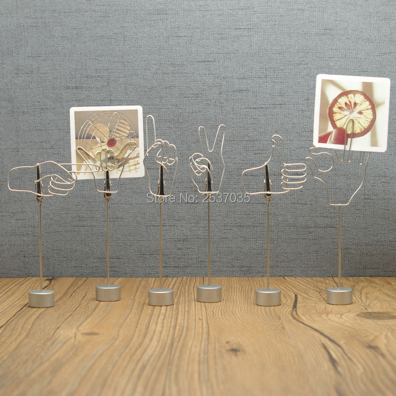 E80 어소트먼트 제스처 노트 메모 클립 실용 / 사랑스러운 손으로 만든 예술 공예품 웨딩 & 생일 & 홈 & 오피스 & 기프트 & 프레 젠트