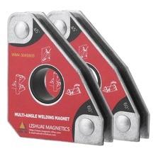 2 قطعة متعددة زاوية 30/60/45/90 لحام المغناطيس حامل لحام أداة للكهرباء لحام الحديد شفط عقد أداة يدوية