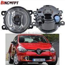 2x Fog Lamp Assembly Fog Lights Halogen Lamps For Renault Clio IV 2012 2013 2014 2015 2016