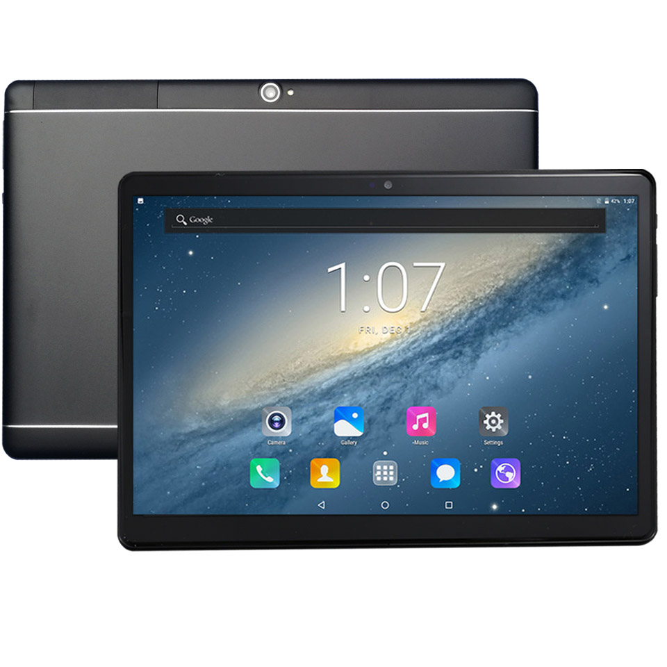 10.1 pouces S109 Octa \ 10 Core CPU MTK6797 3G 4G LTE tablette 4GB RAM 32GB 64GB ROM 1920*1200 Android 8.1 tablettes pcs batterie 6000mah