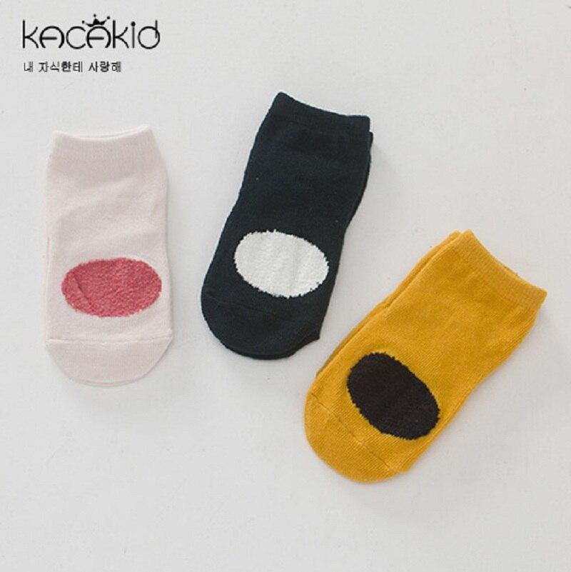 85f3580309b68 Kacakid new baby socks baby girls coral velvet socks kids comfortable  non-slip socks children short socks 3pairs lot