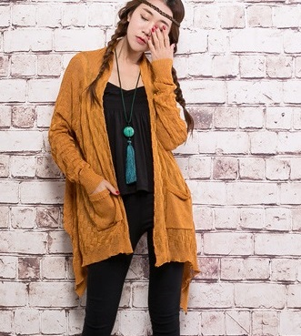 In the spring of 2017 new products, high-end design original loose big yards of womens sweaters
