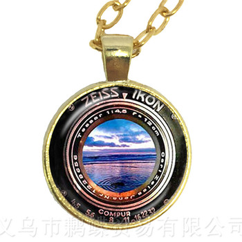 Dslr Lenses Art Picture Necklace Keep That Moment Forever Camera Lens Pendant Necklace DIY Charms Jewelry Wonderful Gift image