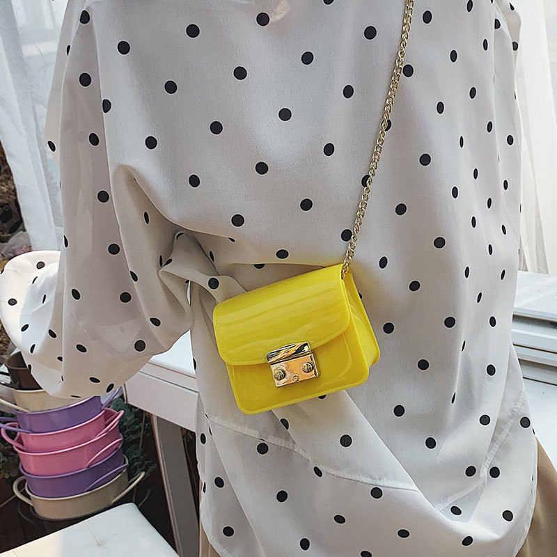Дизайнер кошелек сумочка Повседневное Для женщин сумка мини женская сумка на цепочке через плечо 2019 высокое качество из искусственной кожи маленькие квадратные пакеты
