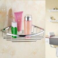 Stainless Steel Kitchen Bathroom Corner Storage Basket