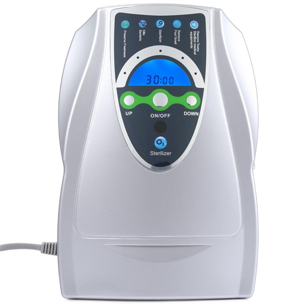 220 V 110 V générateur d'ozone ozonateur ioniseur O3 minuterie purificateurs d'air huile végétale viande fraîche purifier Air eau EU US PLUG
