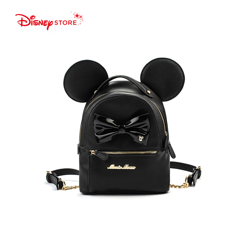 a3b890cce87 Disney Mickey Mouse Women's Backpack Brand Fashion High Quality PU Leather  Schoolbag Bags for Teenager Girl Student Bag A248-in Backpacks from Luggage  ...