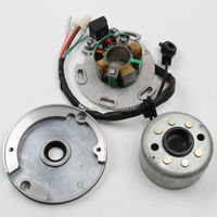 LF Lifan 150cc 8 coil Stator and Magneto Housing for Horizontal Motor,Racing Stator Rotor for Dirt pit monkey Bike 140 150cc