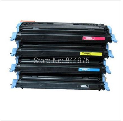 124a  Q6000A - Q6003A color  toner cartridge for hp LaserJet 2605 CM1015MFP CM1017MFP 1600 1600n 2600 2600n 2600dn printer cs oc2032 color toner laserjet printer laser cartridge for oki cx2032 mfp 43324477 43324476 43324475 43324474 6k 5k free fedex