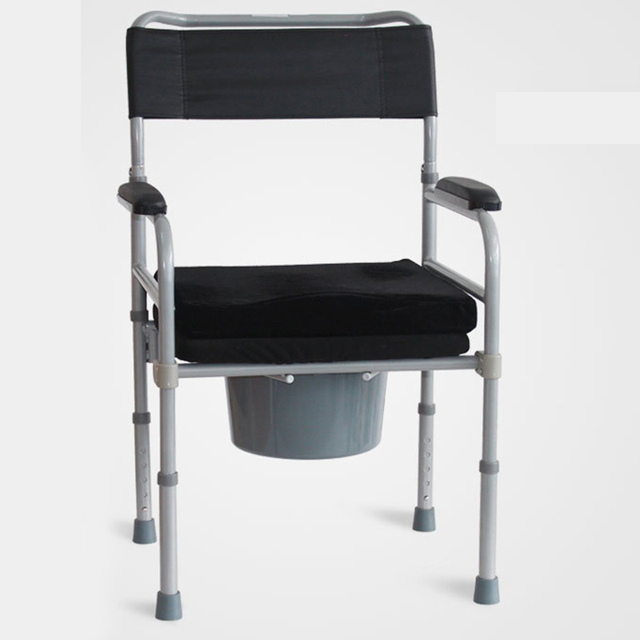 1x Foldable Soft Seat Potty Chair for Elderly, Disabled ...