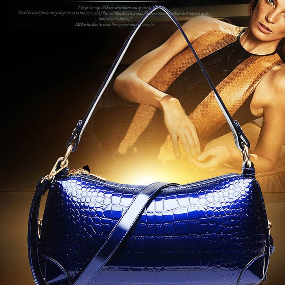 ФОТО Women Mini Leather Zipper Handbag Chain Strap Shoulder Bag Embossed Elegant Evening Messenger Bag Women Cross Body Bag