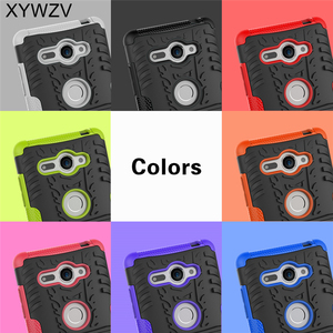Image 5 - SFor Coque Sony Xperia XZ2 Kompakte Fall Harte Silikon Telefon Fall Für Sony Xperia XZ 2 Compact Abdeckung Für Xperia XZ2 Kompakte Schale