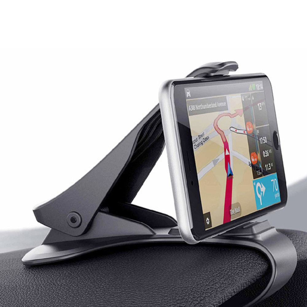 360 Rotation Auto Car Dashboard Mobile Phone Mount Holder Stand Clamp Clip For Smartphone GPS Non-slip