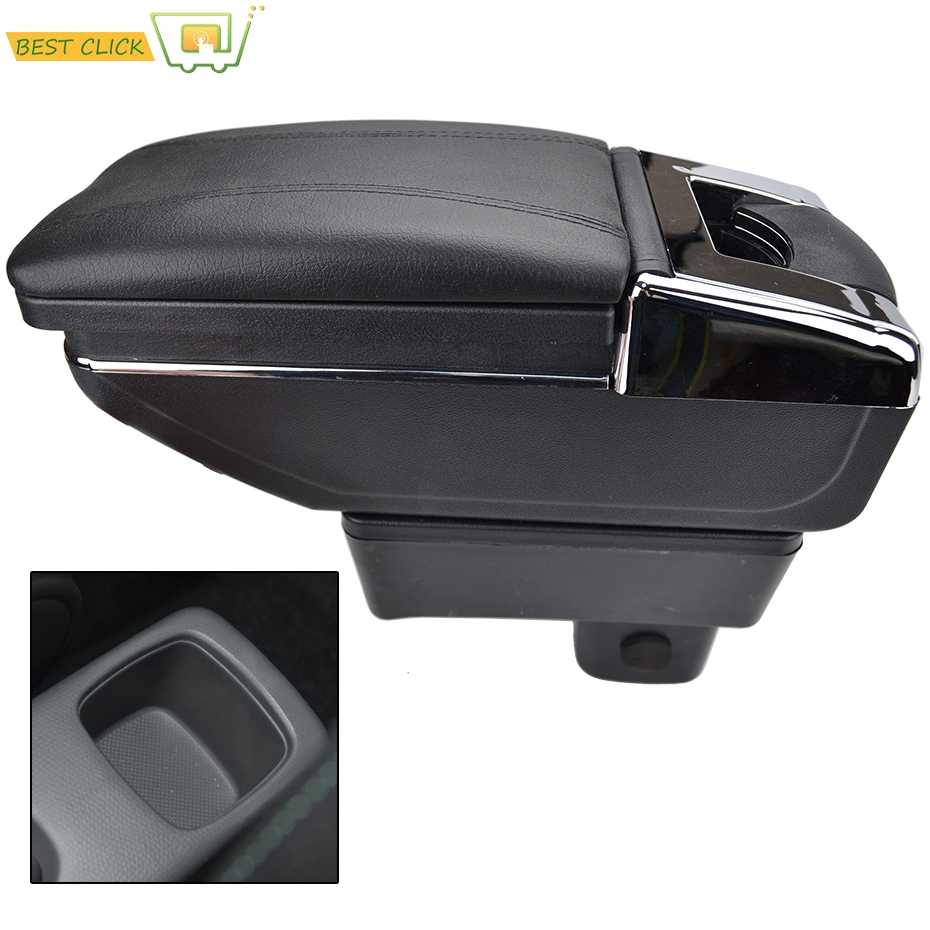 For Suzuki Swift 2005 - 2017 Center Centre Console Storage Arm Rest Rotatable Box Armrest 2006 2007 2008 2009