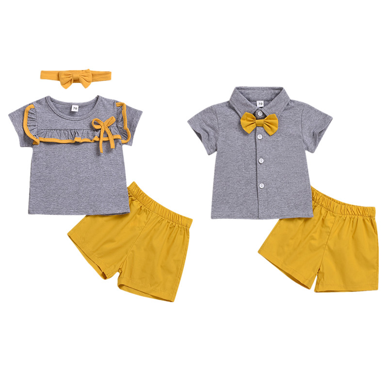 Kid Baby Boy Girl Clothes Set Family Matching Brother And Sister Costume Short Sleeve+Pants Cute Clothing Set Outfit Kid Baby Boy Girl Clothes Set Family Matching Brother And Sister Costume Short Sleeve+Pants Cute Clothing Set Outfit