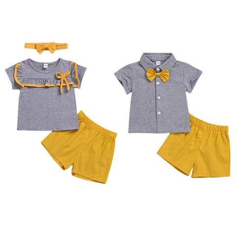 crianca do bebe da menina do menino roupas definir familia correspondencia de irmao e irma