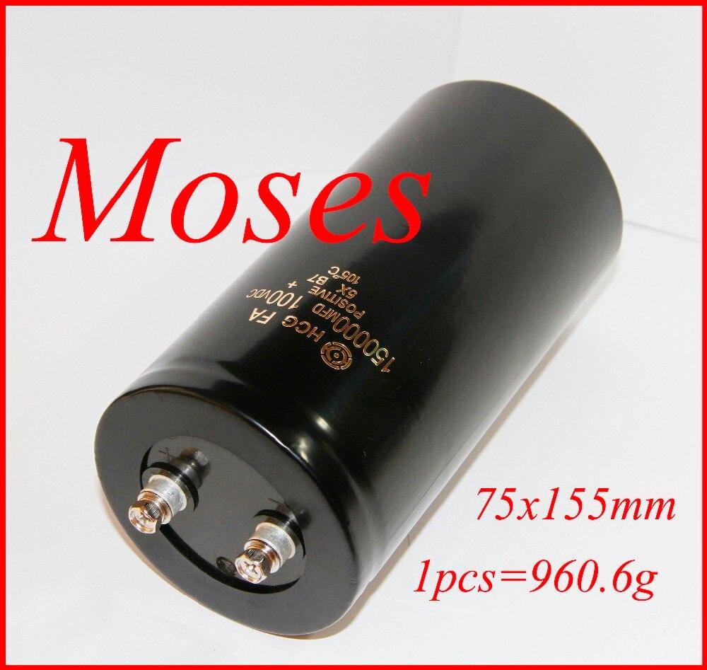 100v 100000uf 150000uf Electrolytic Capacitor Capacitance Radial 75x145mm 75x155mm 1pcs