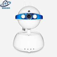 SSICON IP 720P Camera Wireless IP Security Surveillance Camera YOOSEE APP 3.6mm Lens Two Antennas PTZ WIFI Camera