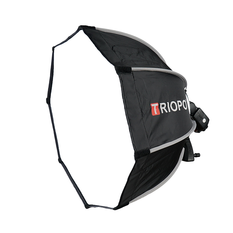 TRIOPO 65 cm Softbox Portable En Plein Air Octogone Parapluie pour YongNuo YN560 III IV TR-988 Godox V860II TT600 Flash Speedlite Souple bo