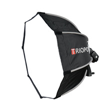 TRIOPO 65cm Softbox Portable Outdoor Octagon Umbrella for YongNuo YN560 III IV TR 988 Godox V860II TT600 Flash Speedlite Soft Bo