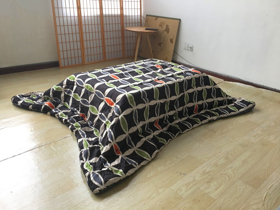 Fu14 Washable Kotatsu Futon Rectangle