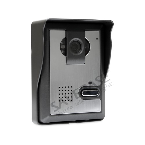 HOMSECUR 7 TFT LCD Color Wired Video Door Phone System Visual Intercom Doorbell with Mute Mode for Home Security
