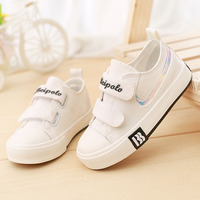 High Quality Canvas Cool Toddler First Walkers Solid Color New Brand Boy Girls Kids Shoes Hot