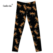 new arrive cute  Dragonfly Leggings 2016 Summer Styles Sexy Fashion Women Fitness Pencil Trousers