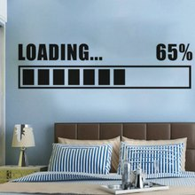 New 3D Wall Stickers Vinyl Decal Loading 65% Gamer Gaming Sticker RoomMates Home Decor Art Murals Design