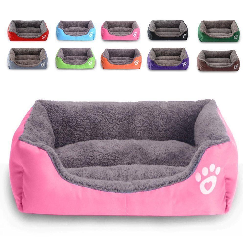 Autumn Winter Large Pet Dog Bed Cushion House Puppy Cat Soft Warm Kennel Mat Blanket Washable TB Sale