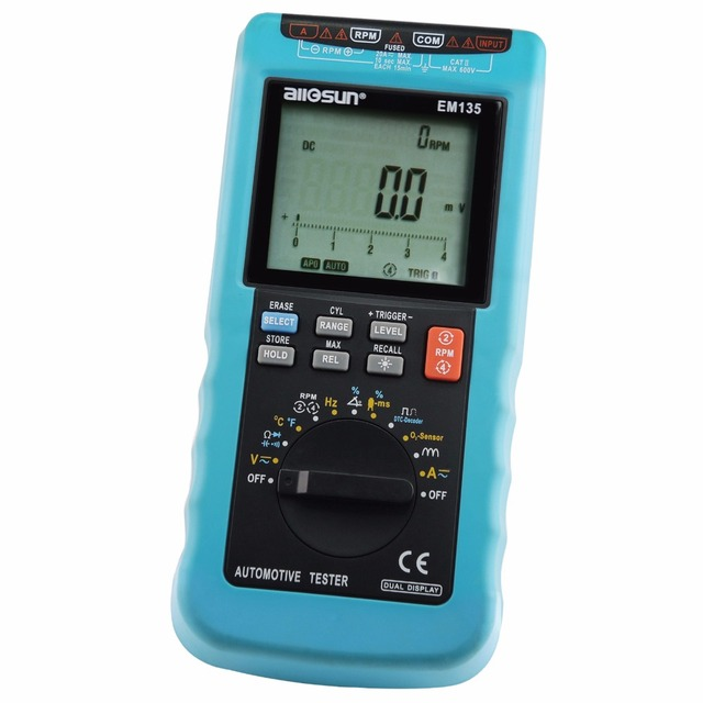 Electronic Measuring Devices For Pickups : Digital automotive multimeter scan car truck engine