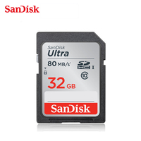 SanDisk SD Card 32gb SDHC HD Flash Memory Card Ultra Class 10 UHS I Up To