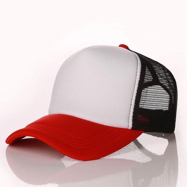 Red White Black Baseball net 5c64f225d8786